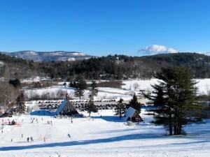 Camden snow bowl base lodge. Hilary Nangle photo