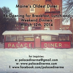 Palace Diner reopening