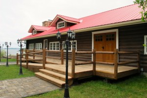 Fireside Restaurant on Campobello is operated by the park. Hilary Nangle photo IMG_1385