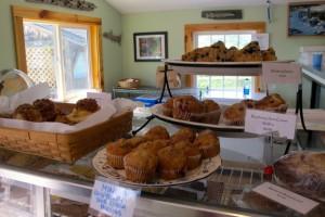 Just a few of the temptations on the bakery counter at Millbrook Company Bakery & REstaurant in Sedgwick. Hilary Nangle photoIMG_2828