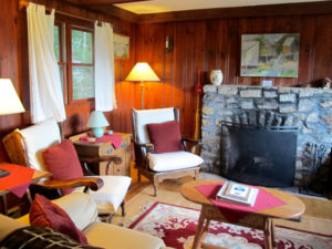 The Birches cottage at the Oakland House in Brooksville is dog friendly. ©Hilary nangle