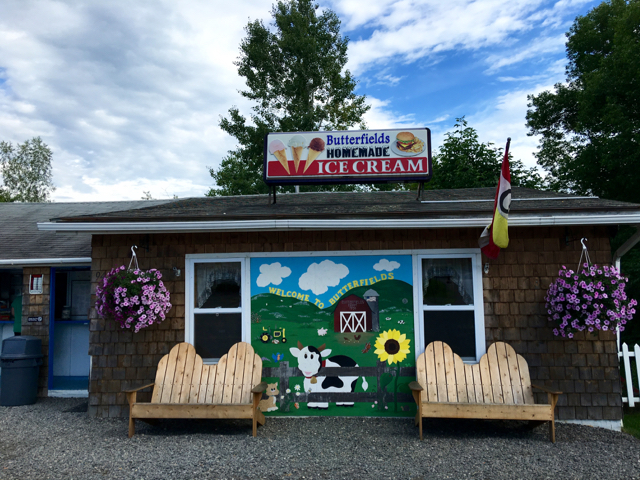 Butterfield's Ice Cream, Dover-Foxcroft @Hilary Nangle