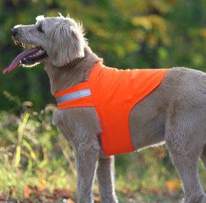 Dog Be Gone No Fly Zone canine safety vest. Photo courtesy Dog Be Gone