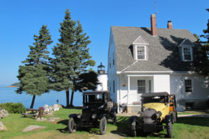 If you want to visit Acadia National Park on Isle au Haut without camping, splurge on The Keeper's House. ©HilaryNangle