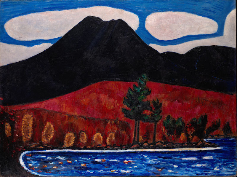 Experience Marsden Hartley's Maine by visiting the Katahdin Woods & Waters region in the Maine Highlands.