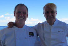 Chefs Mark Gaier & Clark Frasier won a James Beard award for Arrows, in Ogunquit, now they're at MC Perkins Cove. ©Hilary Nangle