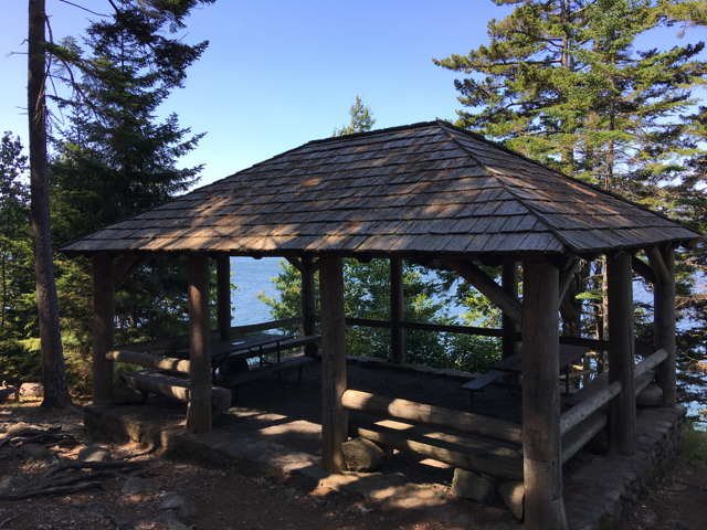 Pretty Marsh is perhaps Acadia's least-crowded picnic area. ©Hilary Nangle