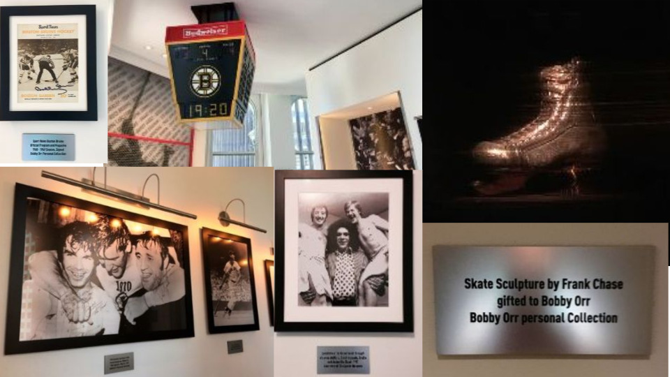 Images from the Bobby Orr Suite at the Ames Boston Hotel. ©hilary Nangle