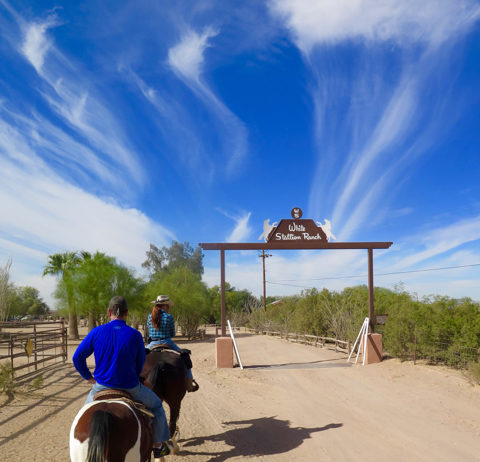 After the ride, return to relax at the ranch. ©Hilary Nangle