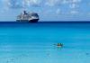 Half Moon Cay, a stop on Holland America Line's Bahamas cruises. ©Hilary Nangle