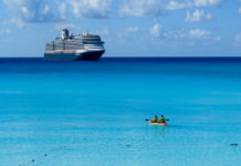 Half Moon Cay, a stop on Holland America Line's Bahamas cruises. ©Hilary Nangle