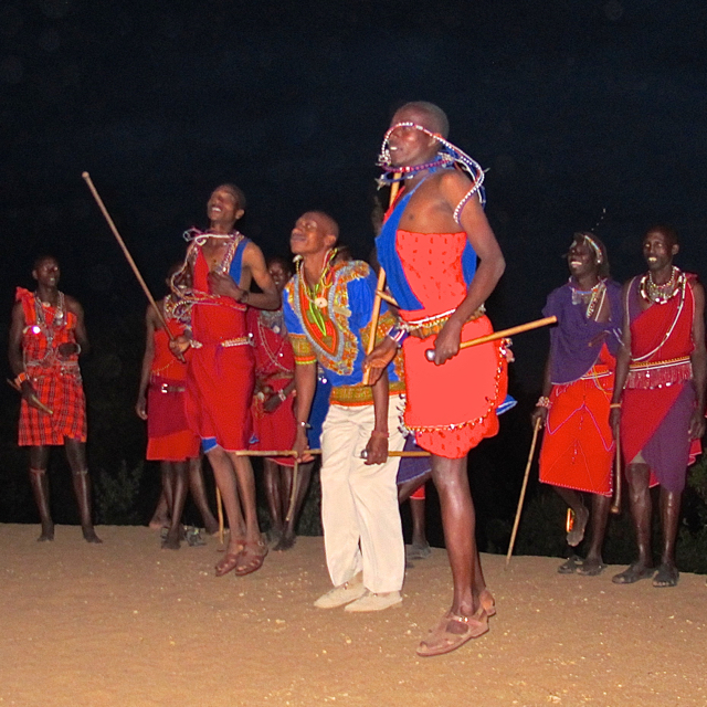 Guests at Angama Mara have the opportunity to learn about Maasai culture. ©Hilary Nangle