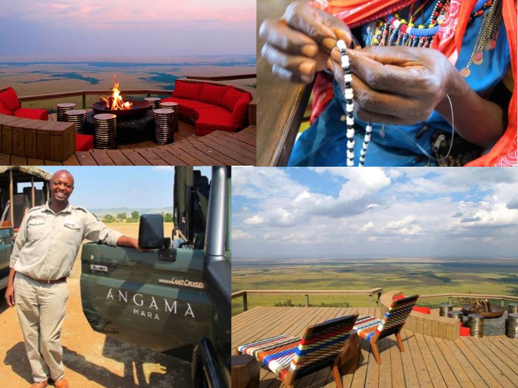If you're considering splurging on a luxury African safari, look no further than Kenya's Angama Mara.