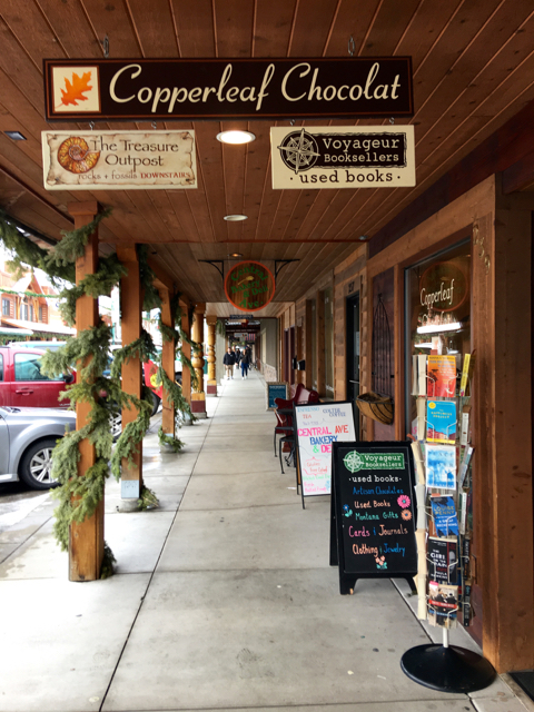 What's better than a book store that also sells chocolates? ©Hilary Nangle