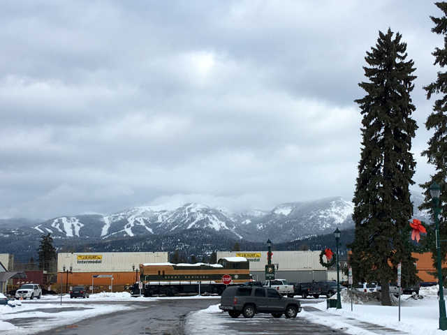 Why Whitefish, Montana? It's easily accesed by train or air. ©Hilary Nangle