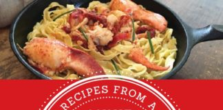 At Home At Sea is a new edition of Annie Mahle's first cookbook, the Red Book, augmented with new variations on many recipes..
