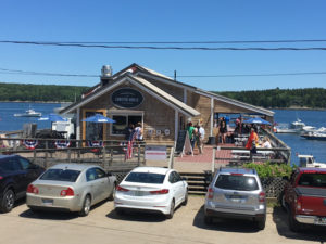 Holbrook's in Cundy's Harbor is part of a not-for-profit complex that includes the lobster shack, a lobster biz, and a historical general store. ©Hilary Nangle